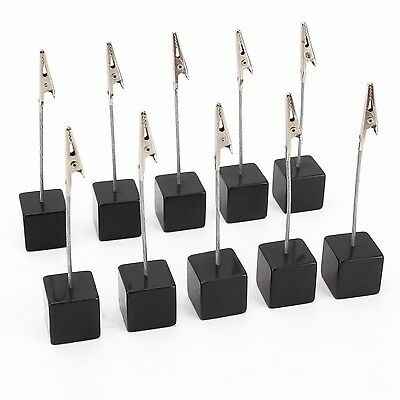 NUOLUX 10pcs Memo Clip Holder Stand with Alligator Clasp for Pictures Card Pa...