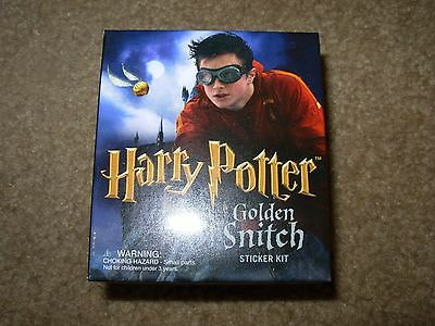 HARRY POTTER Golden Snitch model toy Sticker Kit cosplay quidditch Running Press