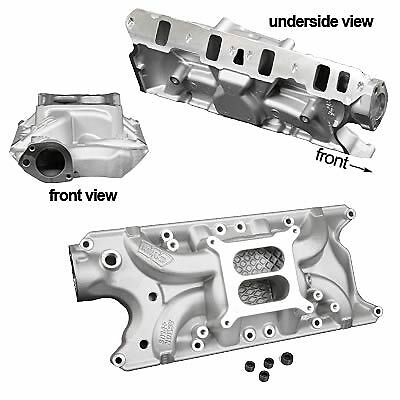 Ford 289 302 Windsor Weiand Street Warrior intake Manifold # WEI8124