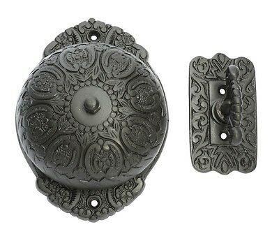 Antique Finish Fancy Turn Bell - Door Bell with Mechanism Included