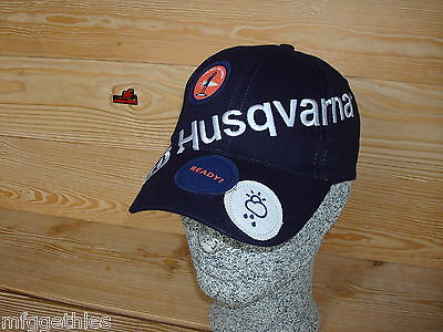 "HUSQVARNA Holzfäller / Holzschläger Cap 2016 ""READY WHEN YOU ARE"""