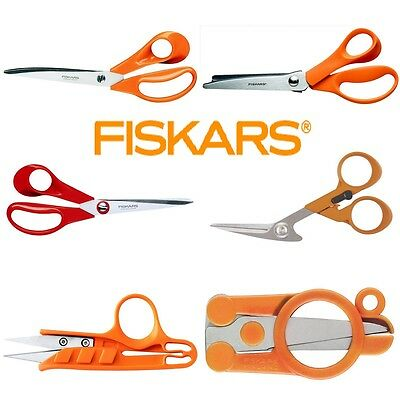 FISKARS® Classic™ Scissors Premium Quality Fabric Tailors Shears Dressmaking