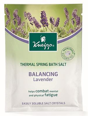 Kneipp Balancing Mineral Bath Salt Balances The Emotions Lavender 60g