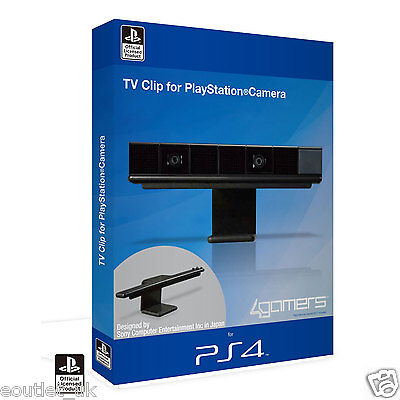 4Gamers Officially Licensed LCD HD TV Clip For Sony PlayStation Camera PS4 NEW