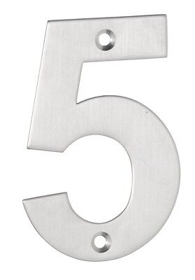 304 Grade Stainless Steel Large House Number 5