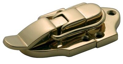 Suitcase Catch Polished Brass