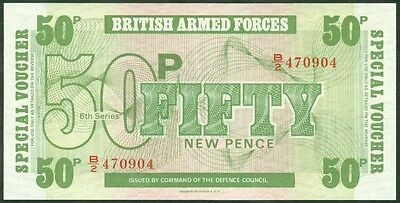 GREAT BRITAIN 50 NEW PENCE 1972 B.A.F. P M49  LOT 2 Notes  Uncirculated