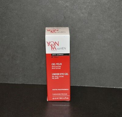 Yonka For Men Under Eye Gel 15ml/0.5fl.oz. New in box (Free shipping)