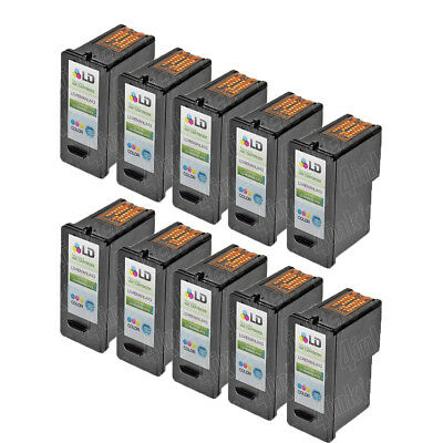 10pk 18Y0143 43XL 43 XL High Yield Color Printer Ink Cartridge for Lexmark