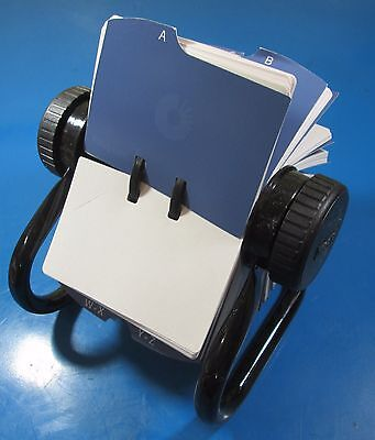 Rolodex Slotted Card File Labeled A-Z 400 Cards