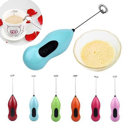 Handy Milk Frother Drink Foamer Electric Whisk Mixer Stirrer Egg Beater Coffee