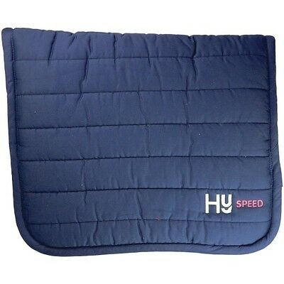 HYSPEED REVERSIBLE COMFORT PAD NAVY horse saddle thick pad