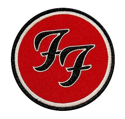 Foo Fighters FF Logo Music Band Iron On Applique Patch p392