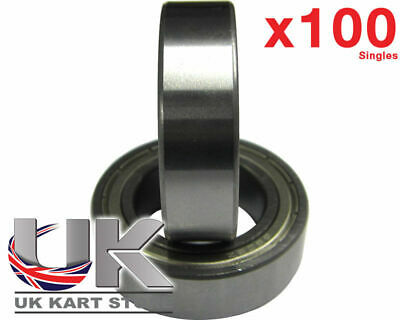 TonyKart / OTK Front Hub Bearings x 100 (6905z) 25 x 42 x 12mm UK KART STORE