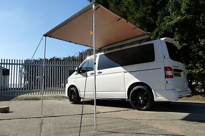 Van Guard VW Transporter T5 T6 2 Ulti Roof Bars With Awning Kit 2.5M X 2M Size