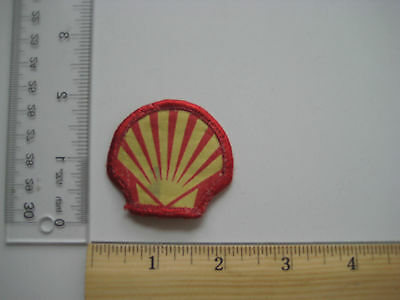SHELL OIL Vintage Sew Patch Auto Gas Transportation