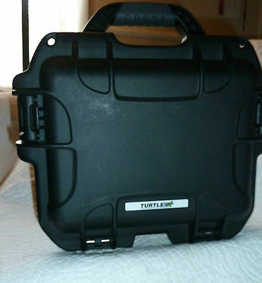 """Perm-A-Store Turtle Case Auto pressure equalizer waterproof crushproof 12.5"""""""