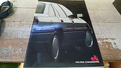 1989 HOLDEN COMMODORE VN Orig Sales Brochure Includes S
