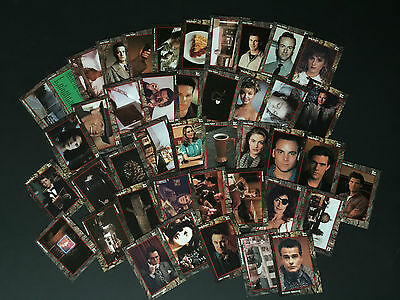 Twin Peaks Complete Set of Collector Cards (77/77) - Free Postage