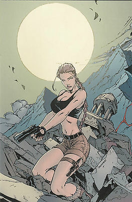 TOMB RAIDER # 21 VARIANT - COMIC ACTION 2004 - lim. 250 Ex. - INFINITY - TOP