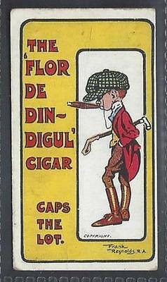 Bewlay - Comic Advertisement Cards - Caps The Lot