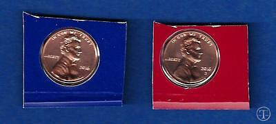 2016 P AND D Lincoln Cent Penny Set-P and D BU Uncirculated from Mint Set