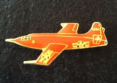 Vintage Bell X-1 Experimental Jet Airplane Lapel Hat Pin New Old Stock Yeager