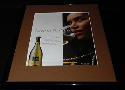 2015 J Lohr Wine 11x14 Framed ORIGINAL Advertisement
