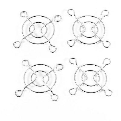 4 x Metal Wire Finger Grill for 40x40mm CPU DC Cooling Fan PC Guard Protector