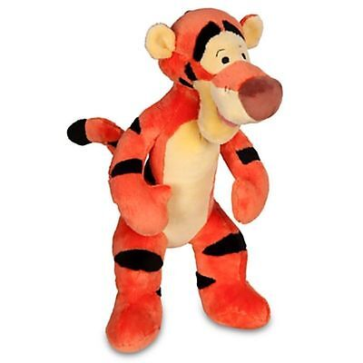 "NWT Disney World Store Large Tigger Plush Toy Stuffed 14"" From Winnie the Pooh"