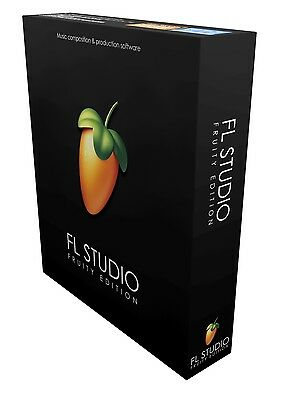 Image Line Fl Studio 12 Fruity Edition Full Boxed New