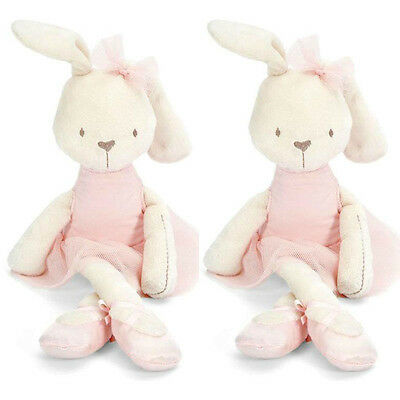 Cute Stuffed Bunny Rabbit Animal Doll Plush Soft Toy Kid Child Baby Pillow Gifts