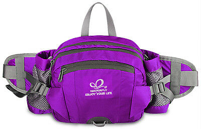 Waist Pack Bag Pouch Hiking Running Camping Shoulder Backpack Fanny Pack New
