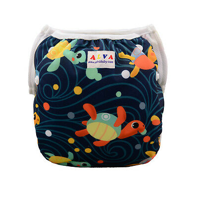 Alva Baby Boy Swim Pool Pant Comfortable&Breathable Printed With Snaps 10-40lbs