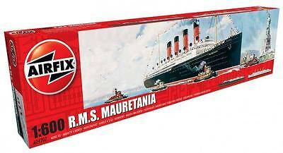 Airfix A04207 - RMS Mauretania Plastic Model Kit 1/600 Scale - Tracked 48 Post