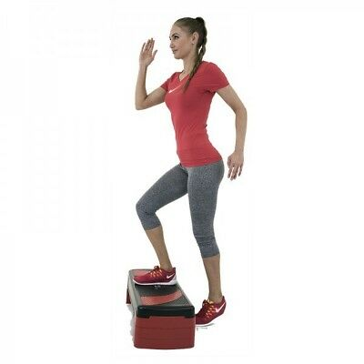 Christopeit Steppbrett höhenverstellbar Fitness Stepper Step Board Aerobic