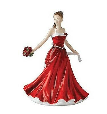 Royal Doulton Petite Pretty Ladies JUNE ROSE Flower of the Month New Box