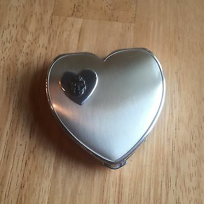 WWII US Navy Sweetheart Makeup Compact Sterling Silver