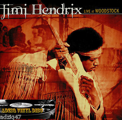 ♪♪ Jimi Hendrix  Live At Woodstock   2 Cd  ♪♪