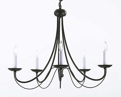 "Wrought Iron Chandelier Chandeliers Lighting H22"" x W26"""