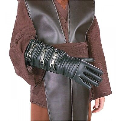 Anakin Skywalker Glove Kids Star Wars Costume Gauntlet Halloween Fancy Dress