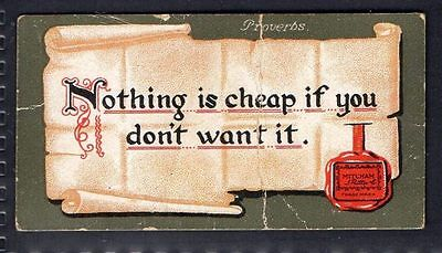 Rutter - Proverbs (Red) - Nothing Is Cheap