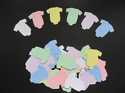 40 Onesies Diecuts - Baby Shower Invitations, Decorations, Scrapbooking, Crafts