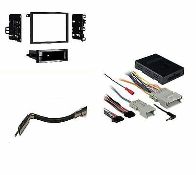 STEREO RADIO Single Din Dash Kit with Onstar Wiring Harness ... on onstar modules, onstar antenna, onstar ignition, onstar controls,