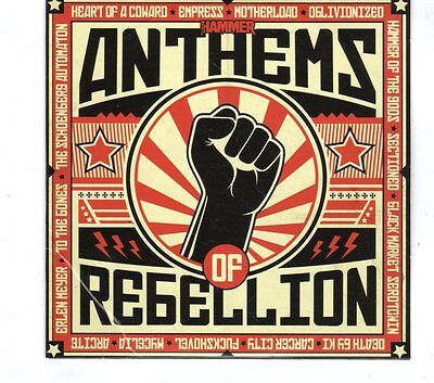 (GR735) Metal Hammer 245 - Anthems of Rebellion, 15 tracks various  - 2013 CD