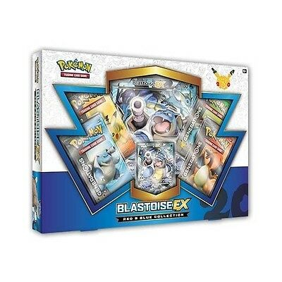Pokemon TCG Generations:: Red & Blue Collection Blastoise EX :: New Sealed Box!