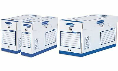 Fellowes BANKERS BOX Basic Archiv-Schachtel Heavy Duty A4+ , 0043859702879
