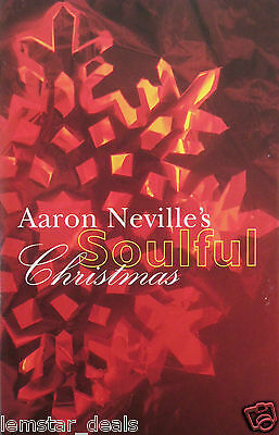 aaron nevilles soulful christmas by aaron neville cassette 1993 am