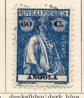 Angola 1922 Early Issue Fine Used 60c. 067579