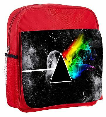 Stylized The Dark Side Of The Moon Kids Adjustable Strap Backpack